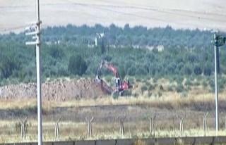 Türkiye mevzi yaptı, IŞİD hendek kazdı!