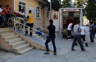 Suriye'de Yaralanan 5 Kişi Hatay'da Tedavi Altına...