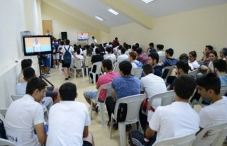 Ksü Besyo özel yetenek sınavı'na 728 aday katıldı