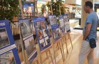 Piazza'da deprem gerçeğini hatırlatan sergi