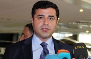 Demirtaş: 'PKK'nın şiddet eylemlerini durdurması...
