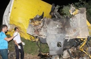 Kamyon uçuruma yuvarlandı: 3 ölü, 1 yaralı!