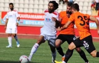 Kahramanmaraşspor-Bugsaş Spor: 1-1