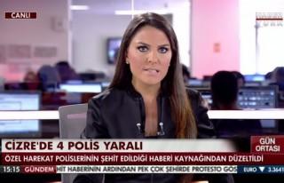 Cizre'de özel harekata saldırı! 4 polis yaralı!