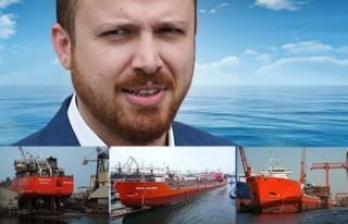 Bilal Erdoğan, 2 ayda 2 gemi daha indirdi!