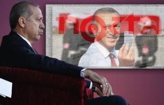 Erdoğan Nokta'yı tehdit etti!