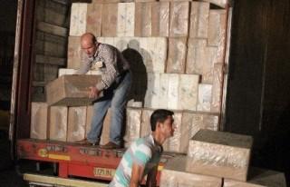 Kahramanmaraş'ta 500 Bin Paket Kaçak Sigara Ele...
