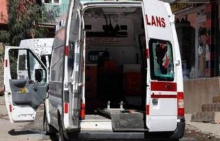 Teröristler ambulansı taradı şoförü şehit etti!