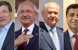 Partiler İstanbul için anlaştı!