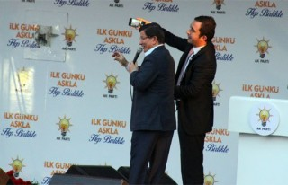 Davutoğlu Kahramanmaraş'ta partililere seslendi!