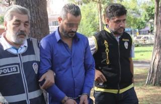 Sevgilisinin kızını taciz etmekten tutuklandı!