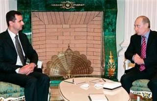Esed Moskova'da Putin'le görüştü!