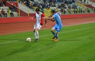 Belediyespor son dakikada mağlup oldu: 1-0