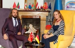 Alman Turizm Derneği'nden Türk işadamı Acıkök'e...