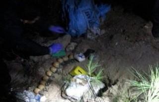 Kana bulayacaklardı! 18 kilo C4 patlayıcısı bulundu!