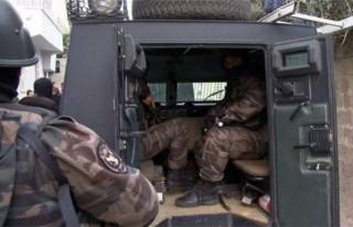 450 polisle şafak operasyonu!!