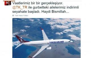 Davutoğlu, gurbetçi ailelere Twitter'dan müjde...