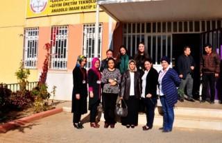 Onikişubat'tan öğretmenlere anlamlı ziyaret