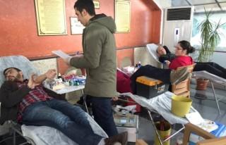 Özel Öğretim Kursu hep birlikte kan bağışı...