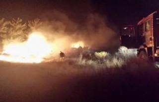 Hatay'da korkutan orman yangını!!