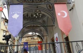 Cumhurbaşkanı Erdoğan canlı bağlantıyla Prizren'de...