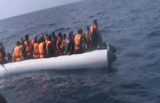 54 mülteci böyle yakalandı!