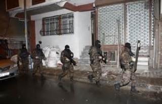 Kahramanmaraş'taki terör örgütü operasyonu