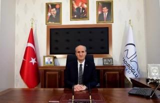 """Başkan Okay: """"Şehitlerimizi Rahmet Ve Minnetle..."""