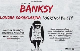 Banksy'nin dünyasına yolculuk, öğrencilere özel...