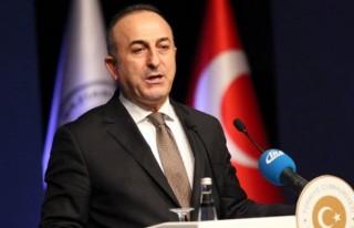 Bakan Çavuşoğlu, İran Dışişleri Bakanı Zarif...