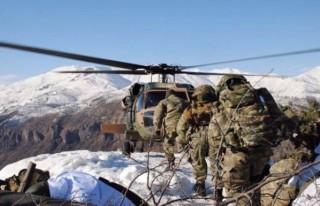 Bitlis'te 6 ayrı sığınak ve mağaraya operasyon!