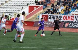 Alpedo Kahramanmaraşspor, sahasında Orduspor ile...
