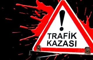 Kayseri'de trafik kazası: 14 yaralı
