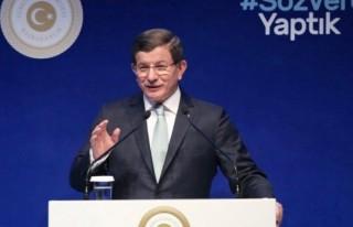 Davutoğlu: 'Siyasi etik kanun teklifini TBMM'ye...