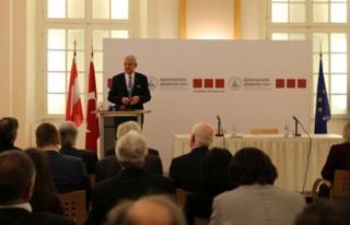 AB Bakanı Bozkır, Avusturya'nın Başkenti Viyana'da...