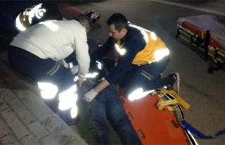 Eğlence dönüşü feci kaza: 2 yaralı!
