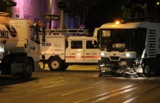 Patlamanın ardından Bursa'da hayat normale döndü!