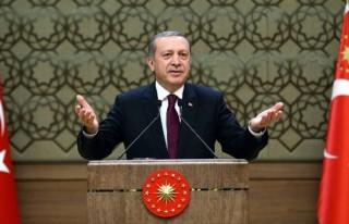 Cumhurbaşkanı'ndan Galatasaray'a tebrik!
