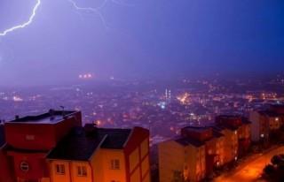 Şiddetli sağanak ve dolu yağışı Bursa'yı felç...
