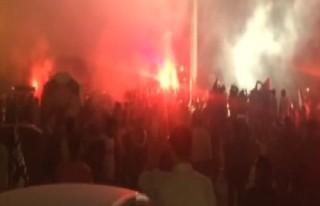 Beşiktaş'a coşkulu karşılama!