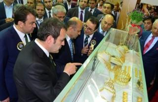 Kahramanmaraş'ta Ortadoğu Altın ve Mücevher Fuarı...