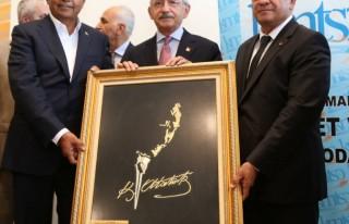 Kılıçdaroğlu, Kahramanmaraşlı işadamlarıyla...