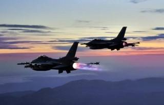 PYD/YPG'ye hava harekatı:18 hedef imha edildi!