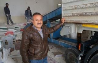 Kahramanmaraş'tan Suriye'ye İnsani Yardım Sürüyor