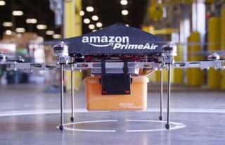 Amazon, drone ile ilk teslimatını yaptı!