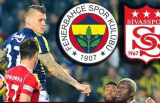 Fenerbahçe 4-1 Sivasspor Fenerbahçe-Sivasspor kaç...