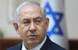 Netanyahu'nun resmi konutuna polis baskını