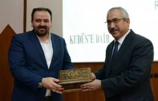"KSÜ'de ""Kudüs'e Dair"" program"