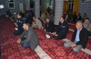 Kahramanmaraş'ta Şehit Polisler için Mevlit okutuldu