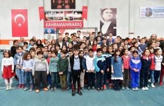 Uluslararası 5 Nisan madalya günü satranç turnuvası...